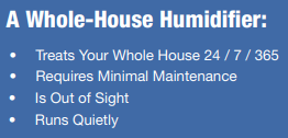 whole house humidifier benefits