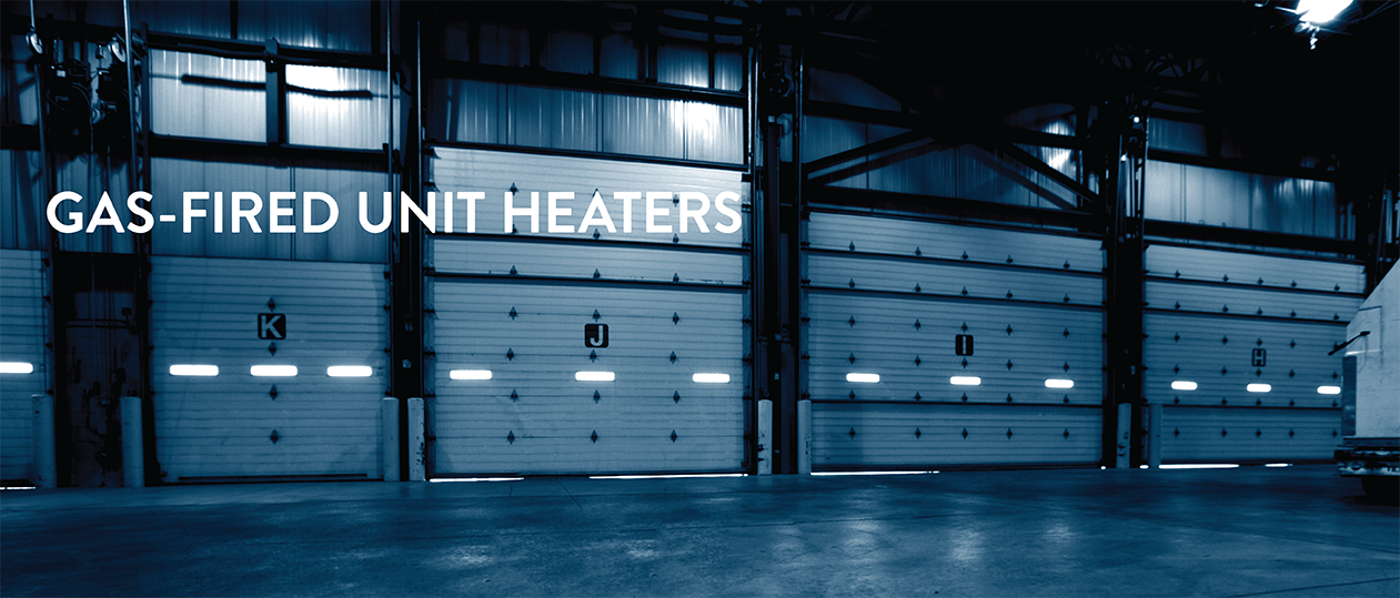 Gas fired unit heaters